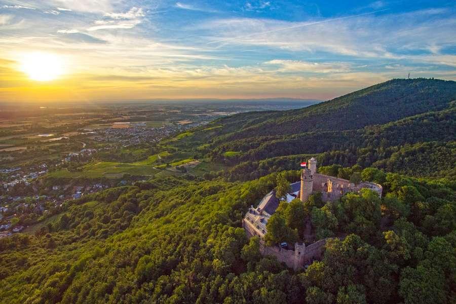 Luftaufnahme Schloss Auerbach
